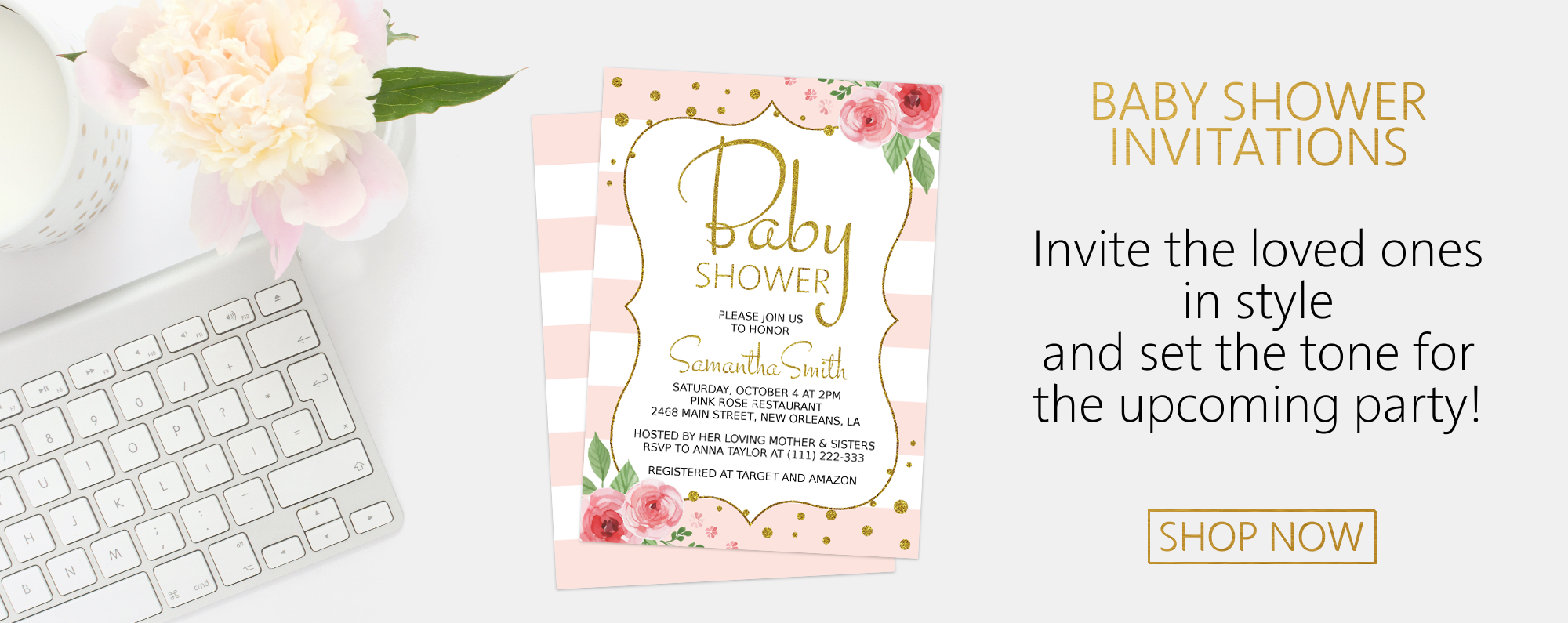 Shop Category – Baby Shower Invitations